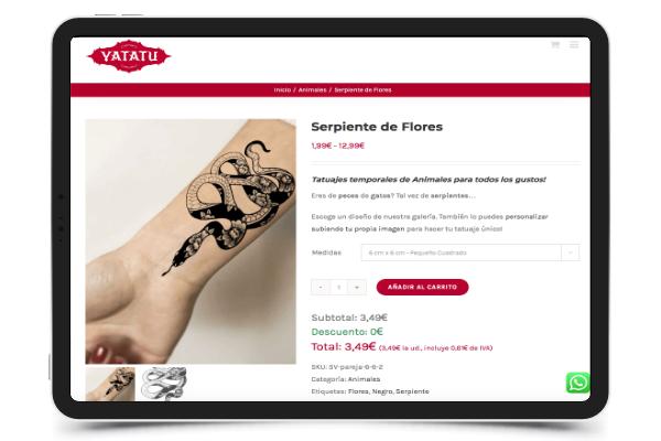 abled tatuaje de serpiente yatatu